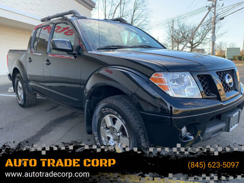 2012 Nissan Frontier for sale at AUTO TRADE CORP in Nanuet NY