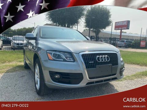 2011 Audi Q5 for sale at CARBLOK in Lewisville TX