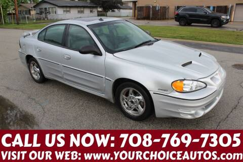 2004 Pontiac Grand Am for sale at Your Choice Autos in Posen IL