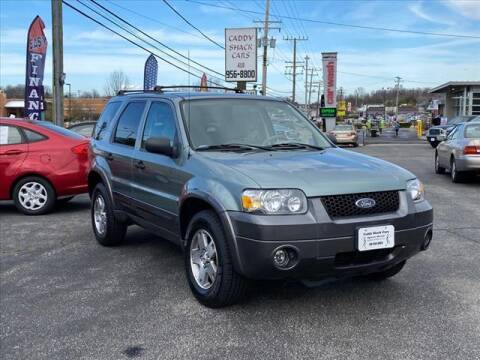 2005 Ford Escape for sale at CADDY SHACK CARS in Edgewater MD