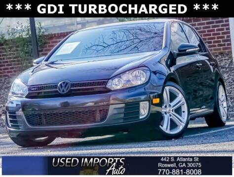 2012 Volkswagen GTI for sale at Used Imports Auto in Roswell GA