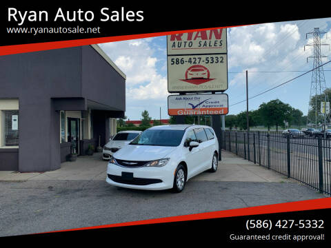 2017 Chrysler Pacifica for sale at Ryan Auto Sales in Warren MI