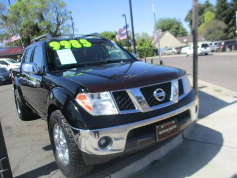 2006 Nissan Frontier for sale at Quick Auto Sales in Modesto CA