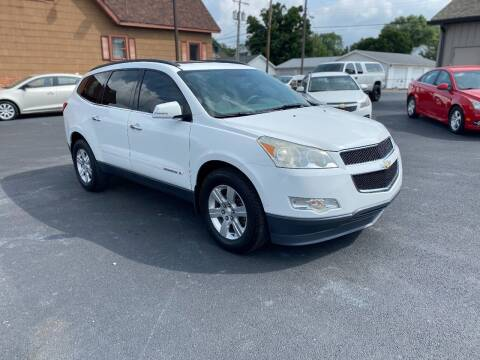 2009 Chevrolet Traverse for sale at Approved Automotive Group in Terre Haute IN
