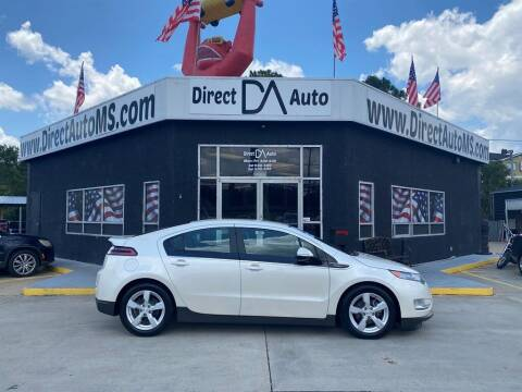 2014 Chevrolet Volt for sale at Direct Auto in D'Iberville MS