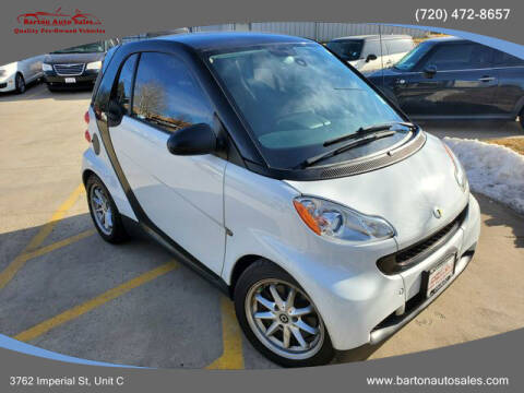 2008 Smart fortwo for sale at Barton Auto Sales in Frederick CO