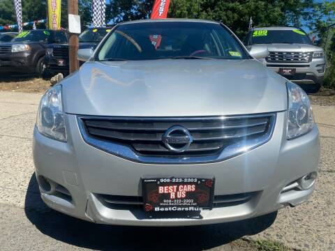 2012 Nissan Altima for sale at Best Cars R Us in Plainfield NJ