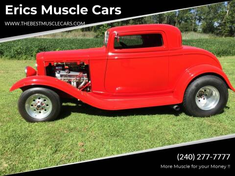 1932 Ford Streetrod for sale at Erics Muscle Cars in Clarksburg MD