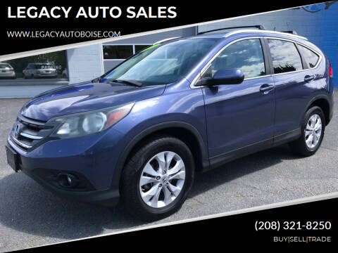 2013 Honda CR-V for sale at LEGACY AUTO SALES in Boise ID