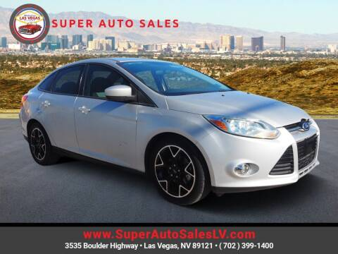 2012 Ford Focus for sale at Super Auto Sales in Las Vegas NV