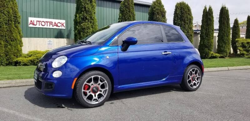 2013 FIAT 500 for sale at AUTOTRACK INC in Mount Vernon WA