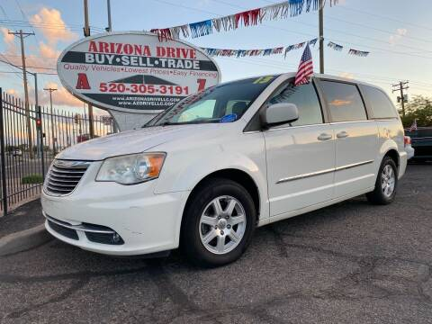2013 Chrysler Town and Country for sale at Arizona Drive LLC in Tucson AZ