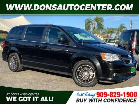 2017 Dodge Grand Caravan for sale at Dons Auto Center in Fontana CA