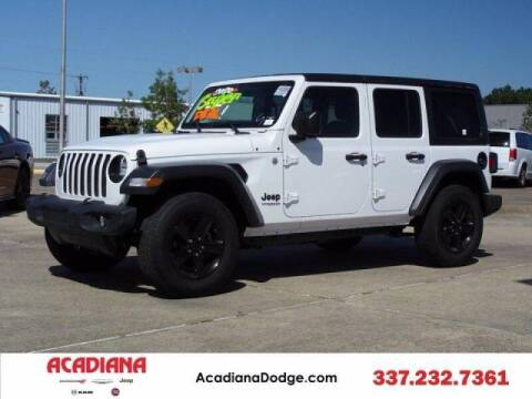 2020 Jeep Wrangler Unlimited for sale at Acadiana Automotive Group - Acadiana DCJRF Lafayette in Lafayette LA