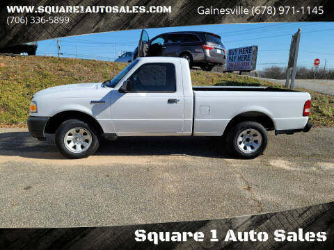 2011 Ford Ranger for sale at Square 1 Auto Sales - Commerce in Commerce GA