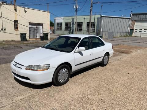 1999 Honda Accord for sale at Memphis Auto Sales in Memphis TN