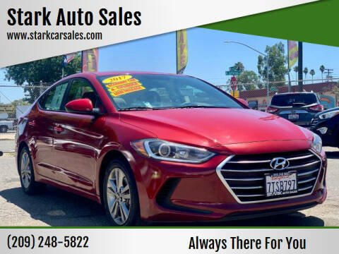 2017 Hyundai Elantra for sale at Stark Auto Sales in Modesto CA