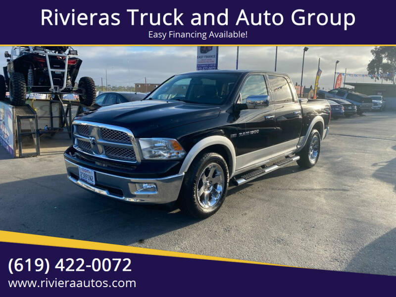 2012 RAM Ram Pickup 1500 for sale at Rivieras Truck and Auto Group in Chula Vista CA