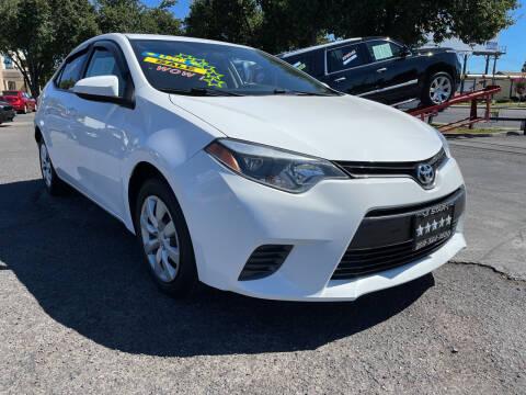 2016 Toyota Corolla for sale at 5 Star Auto Sales in Modesto CA