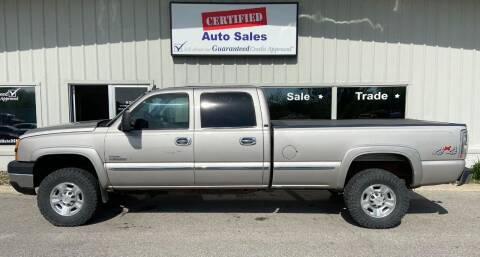 2006 Chevrolet Silverado 3500 for sale at Certified Auto Sales in Des Moines IA