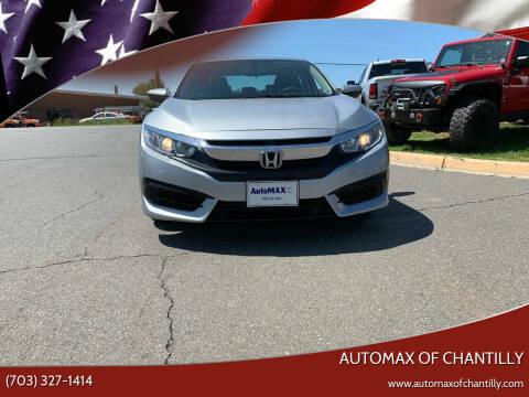2017 Honda Civic for sale at Automax of Chantilly in Chantilly VA