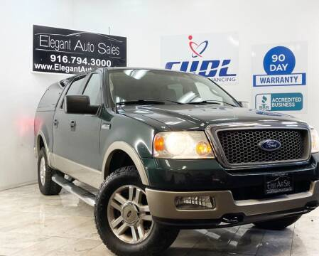 2005 Ford F-150 for sale at Elegant Auto Sales in Rancho Cordova CA
