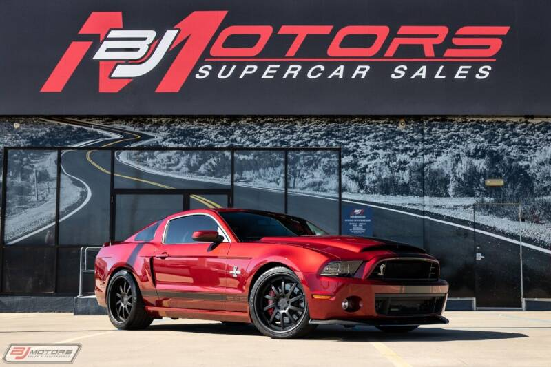2014 Ford Shelby GT500 for sale at BJ Motors in Tomball TX