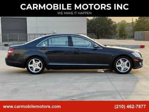 2008 Mercedes-Benz S-Class for sale at CARMOBILE MOTORS INC in San Antonio TX