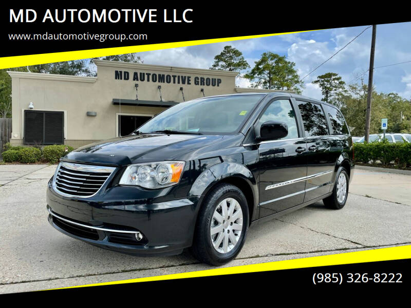 2016 Chrysler Town and Country for sale at MD AUTOMOTIVE LLC in Slidell LA
