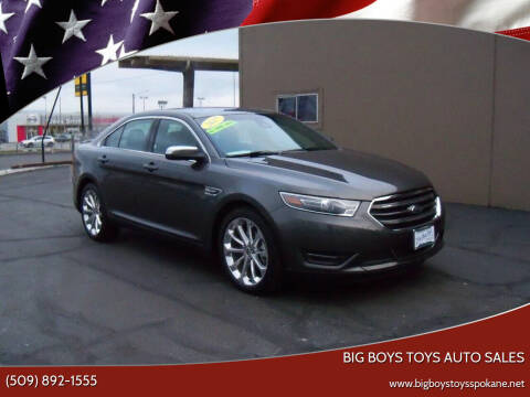 2017 Ford Taurus for sale at Big Boys Toys Auto Sales in Spokane Valley WA