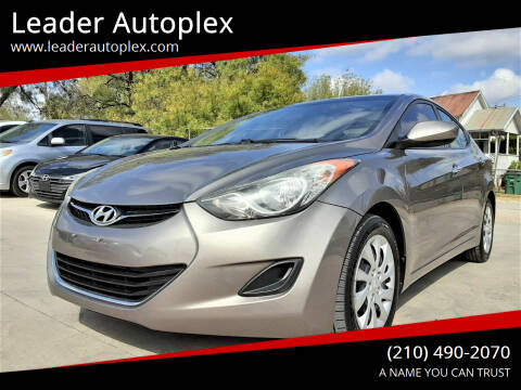 2011 Hyundai Elantra for sale at Leader Autoplex in San Antonio TX