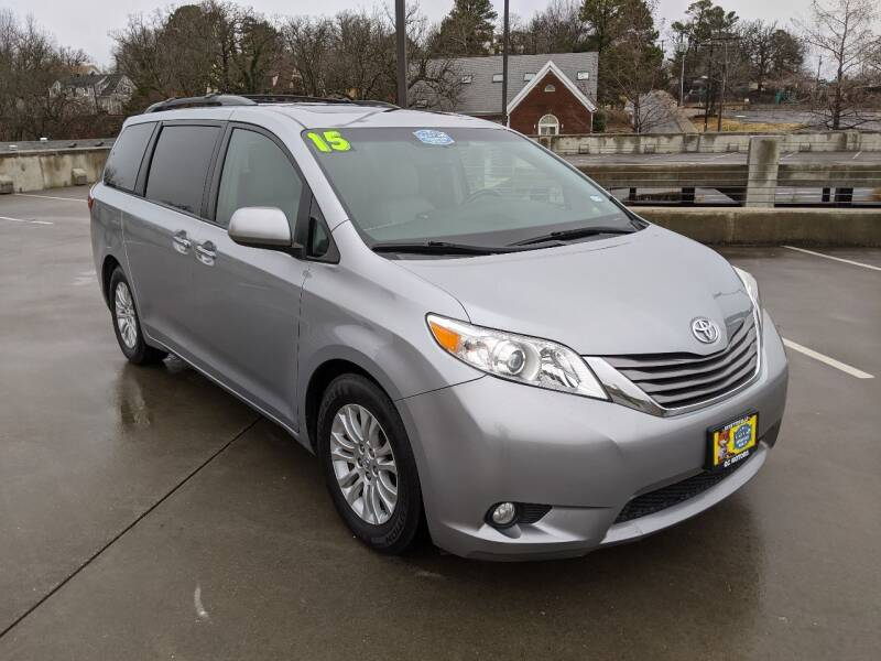 2015 Toyota Sienna for sale at QC Motors in Fayetteville AR