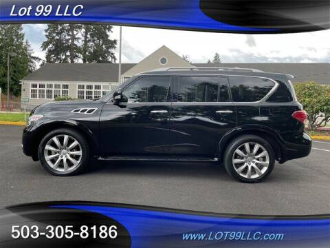 2011 Infiniti QX56 for sale at LOT 99 LLC in Milwaukie OR