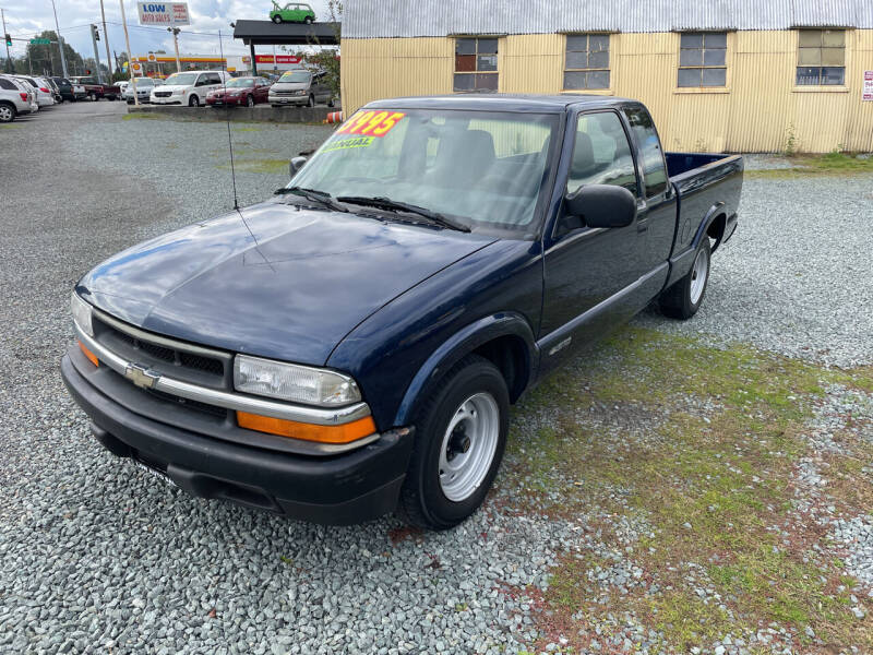2000 Chevrolet S-10 for sale at Low Auto Sales in Sedro Woolley WA