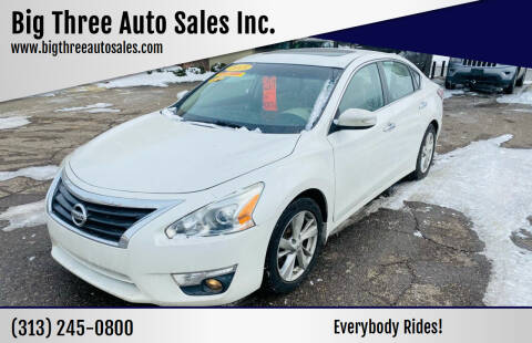 2015 Nissan Altima for sale at Big Three Auto Sales Inc. in Detroit MI
