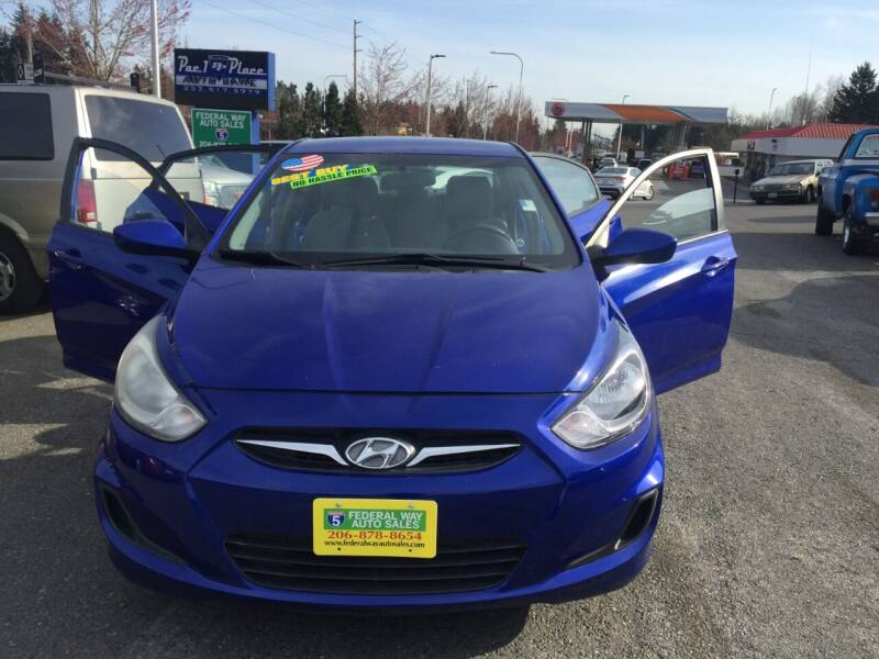 2014 Hyundai Accent for sale at Federal Way Auto Sales in Federal Way WA