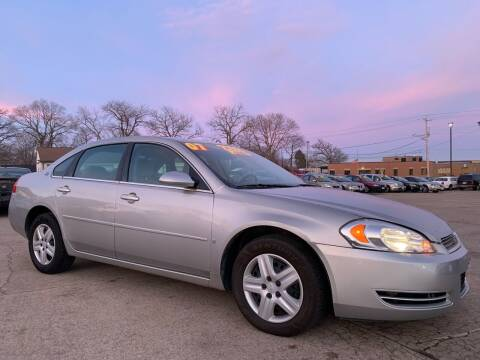 2007 Chevrolet Impala for sale at Victory Motors in Waterloo IA