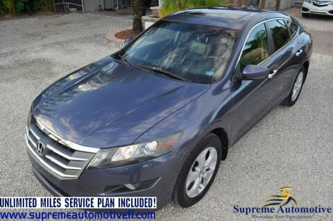 2012 Honda Crosstour for sale at Supreme Automotive in Land O Lakes FL