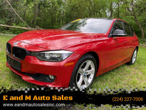 2013 BMW 3 Series for sale at E and M Auto Sales in Elgin IL