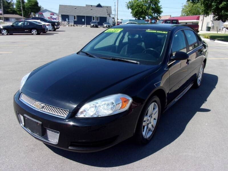 2012 Chevrolet Impala for sale at Ideal Auto Sales, Inc. in Waukesha WI