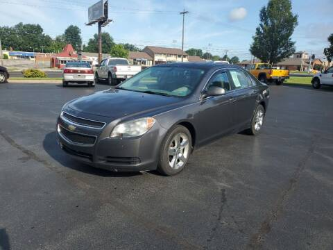 2011 Chevrolet Malibu for sale at Boardman Auto Exchange in Youngstown OH