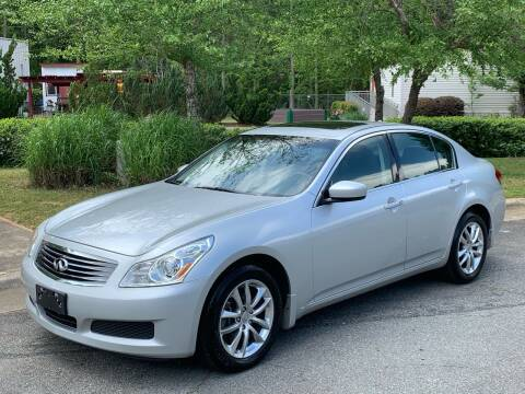 2009 Infiniti G37 Sedan for sale at Triangle Motors Inc in Raleigh NC