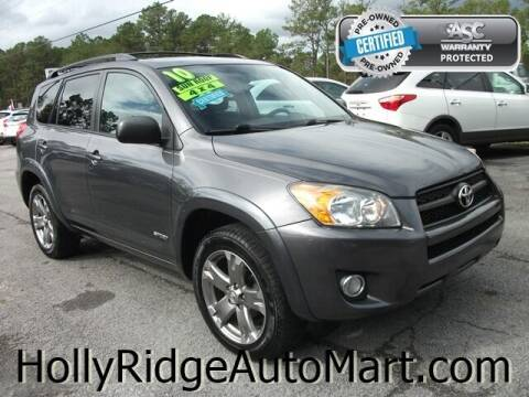 2010 Toyota RAV4 for sale at Holly Ridge Auto Mart in Holly Ridge NC