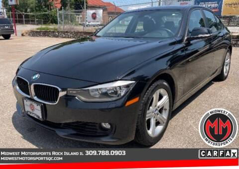 2013 BMW 3 Series for sale at MIDWEST MOTORSPORTS in Rock Island IL
