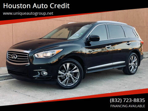 2013 Infiniti JX35 for sale at Houston Auto Credit in Houston TX