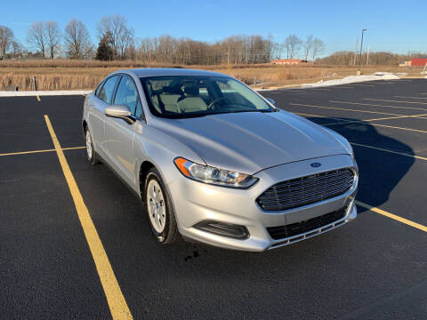 2013 Ford Fusion for sale at Quality Motors Inc in Indianapolis IN