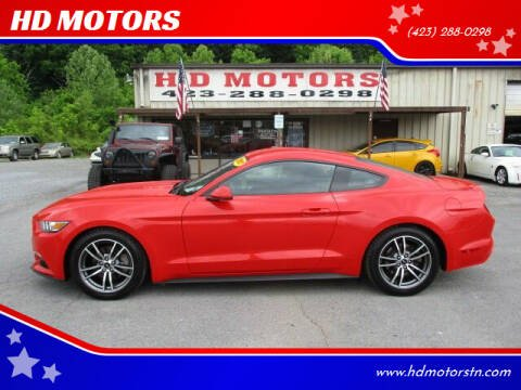 2017 Ford Mustang for sale at HD MOTORS in Kingsport TN