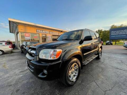 2005 Toyota Sequoia for sale at USA Auto Sales & Services, LLC in Mason OH