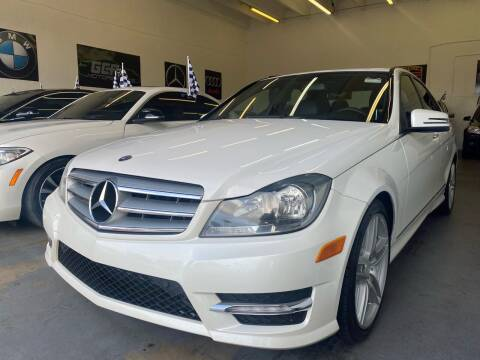 2013 Mercedes-Benz C-Class for sale at GCR MOTORSPORTS in Hollywood FL