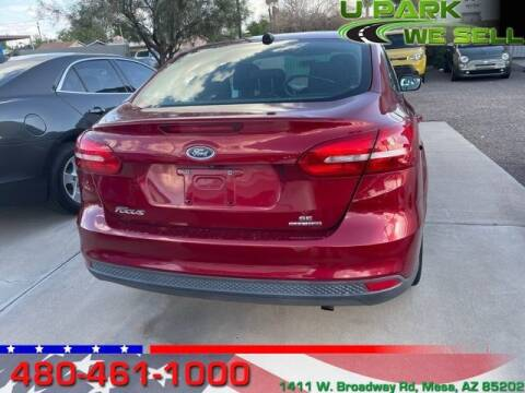 2016 Ford Focus for sale at UPARK WE SELL AZ in Mesa AZ